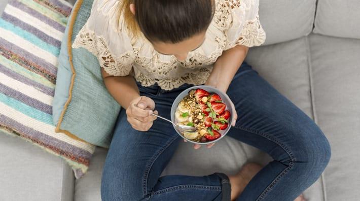 langzaam eten afvallen