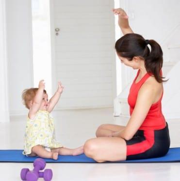 afvallen-na-zwangerschap-bevalling