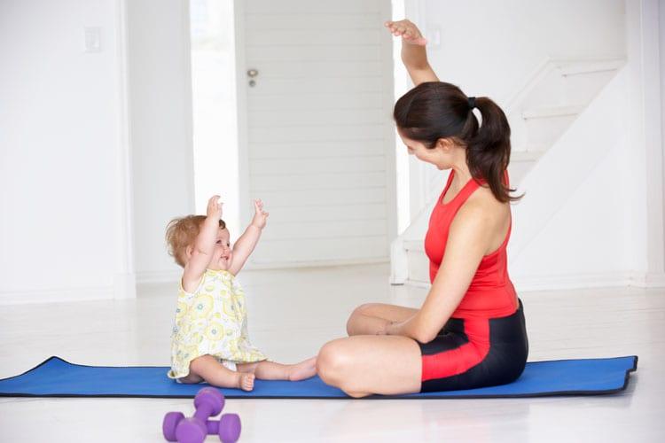 afvallen na zwangerschap dieet