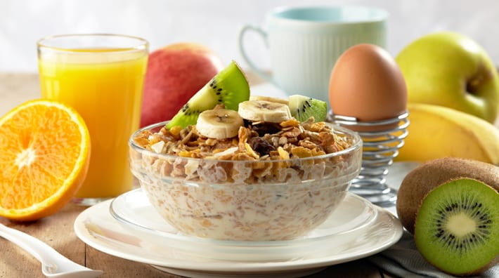 wat is het gezondste ontbijt