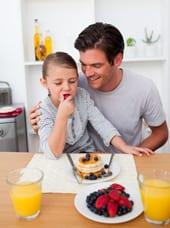 obesitas bij kind schuld vader
