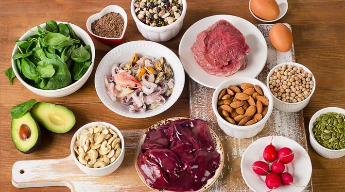 zitten er koolhydraten in vlees