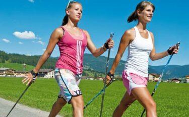 Nordic Walking: méér dan 'gewoon' wandelen!