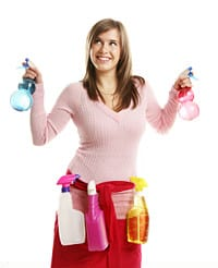 Huis poetsen: alternatieve manier om calorieën te verbranden