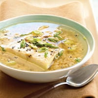 Verfrissend recept voor 'Groene Thee Soep'