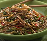 Spaghetti, maar dan anders: heerlijk recept met sesam