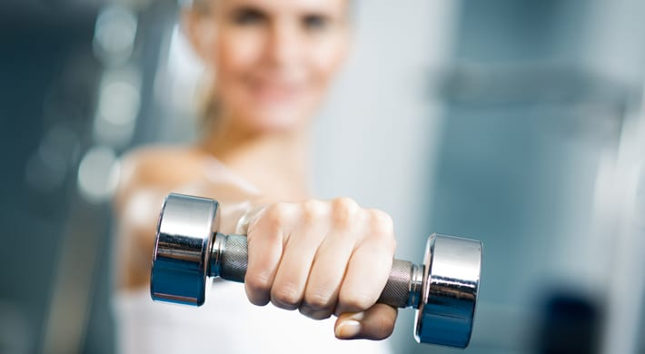 thuis fitnessen thuisfitness