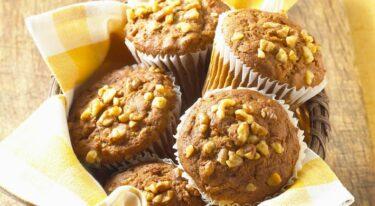 Recept voor supersnelle muffins met zemelen
