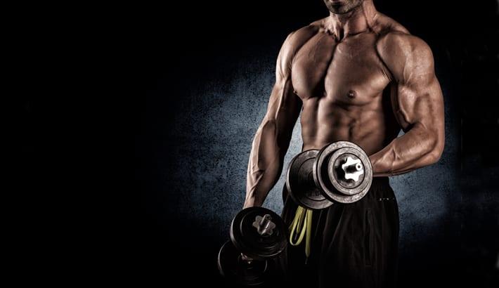 spieren trainen en afvallen