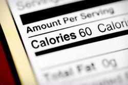 Nieuwe calorieëntabel die rekening houdt met calorieverbruik…