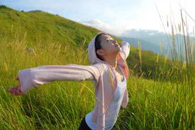 Afvallen door de juiste ademhaling & hartcoherentie