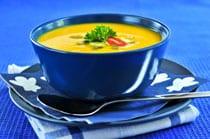 Recept voor geroosterde gele paprikasoep