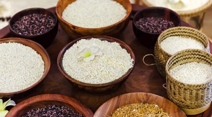 zitten er koolhydraten in rijst