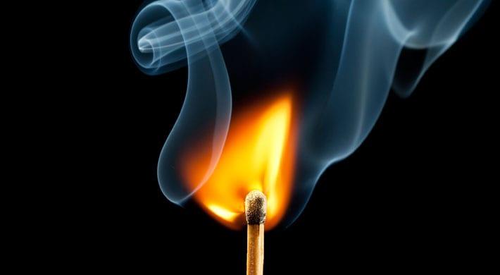 brandblaar behandelen