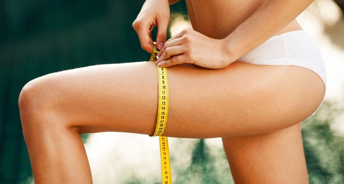 magere benen krijgen