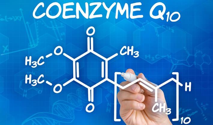 co-enzym Q10 ubiquinone ubiquinol
