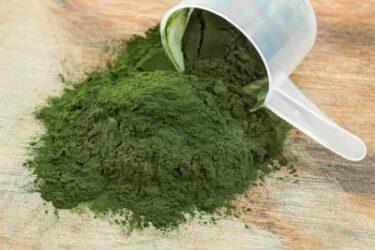 Groen poeder: voor gezondheid, vitaliteit & afvallen