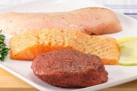 Wat is gezonder & beter voor afvallen: vis of vlees?