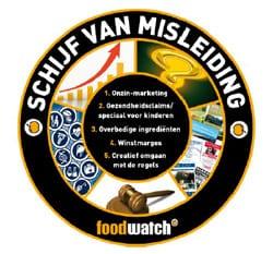 Schijf van Misleiding: pas op voor marketing van voeding!