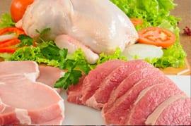 varkensvlees ongezond huid