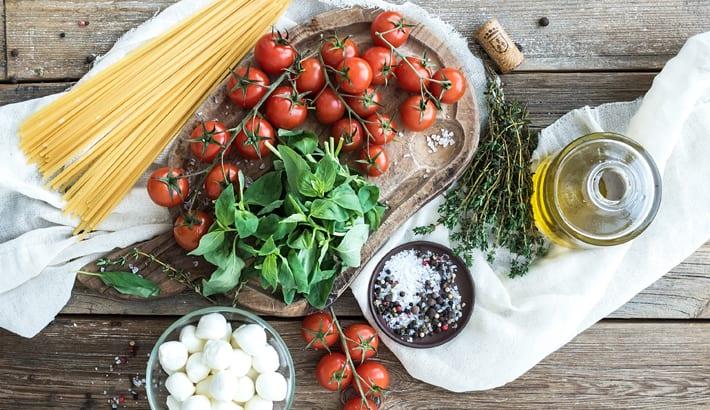 ingredienten mediterrane keuken