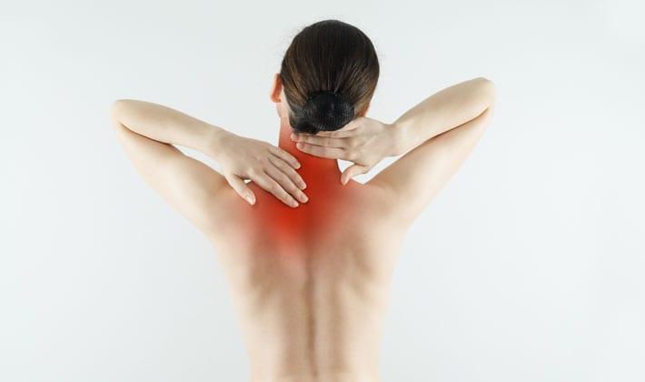 pijn tussen nek en schouder