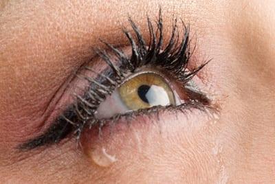 lekkend oog
