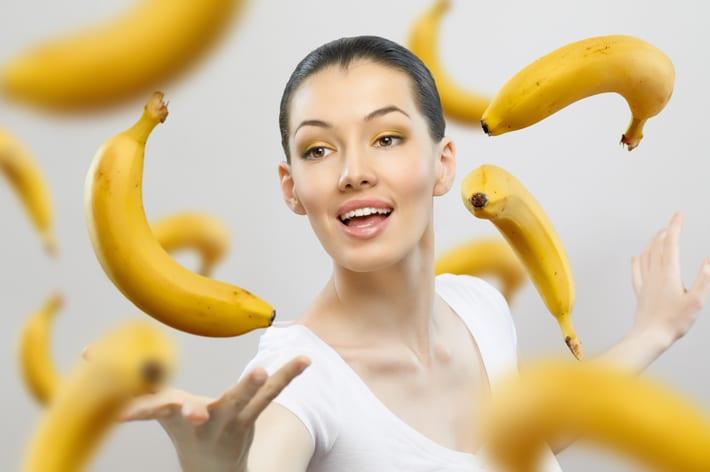 bananen gezond bij afvallen