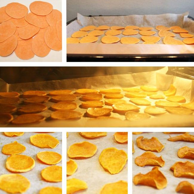 zoete-aardappelchips-oven
